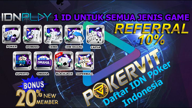 Daftar IDN Poker Indonesia