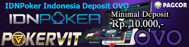 IDNPoker Indonesia Deposit OVO
