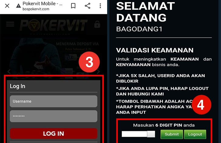 Login Poker Asia Via Website dan Mobile