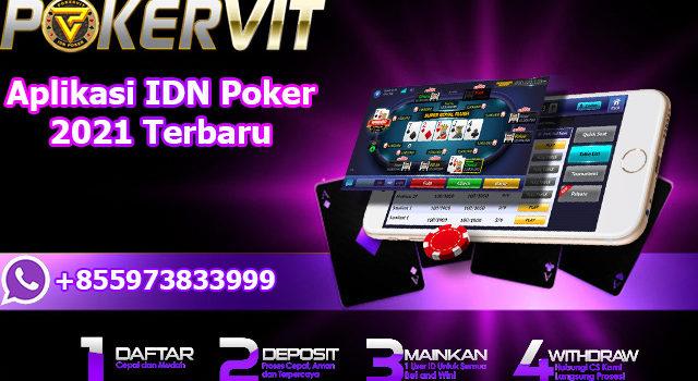 Aplikasi IDN Poker 2021 Terbaru