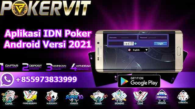 Aplikasi IDN Poker Android Versi 2021