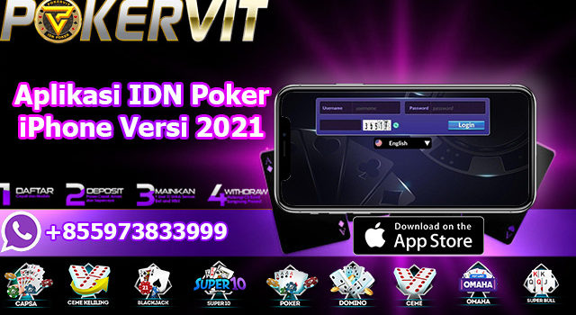 Aplikasi IDN Poker iPhone Versi 2021