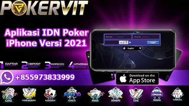 Aplikasi IDN Poker iPhone Versi 2021