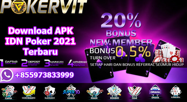 Download APK IDN Poker 2021 Terbaru
