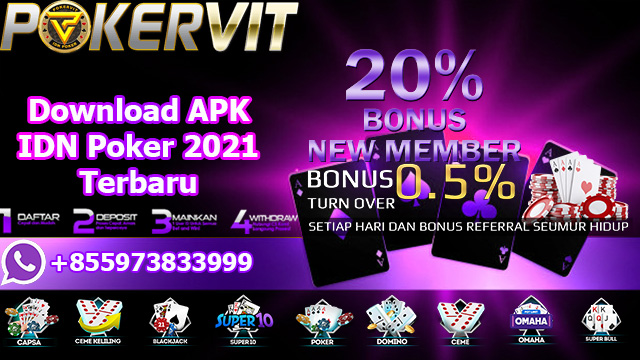 Download APK IDN Poker 2021 Terbaru
