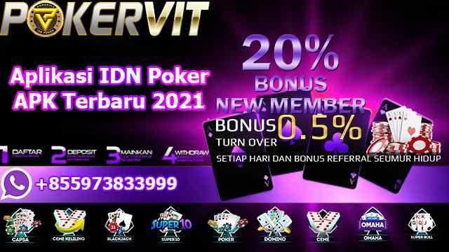 Aplikasi IDN Poker APK Terbaru 2021