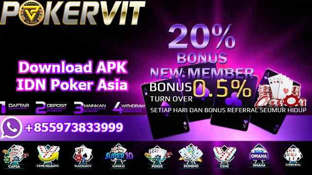 Download APK IDN Poker Asia