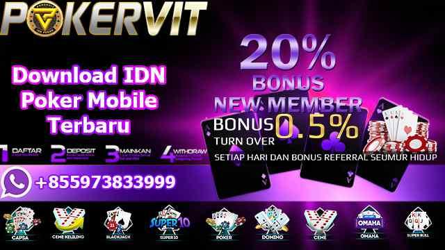 Download IDN Poker Mobile Terbaru