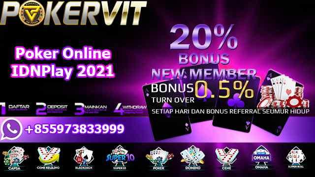 Poker Online IDNPlay 2021