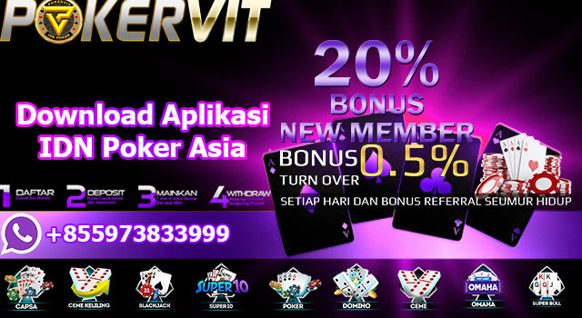 Download Aplikasi IDN Poker Asia