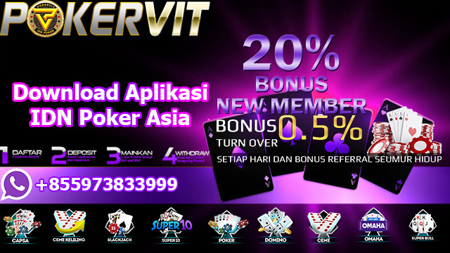 Download Aplikasi IDN Poker Asia