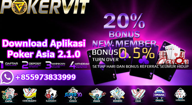 Download Aplikasi Poker Asia 2.1.0