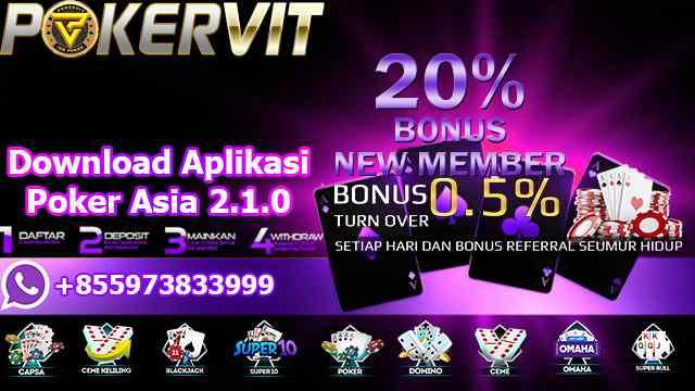 Download Aplikasi Poker Asia 2.1.0