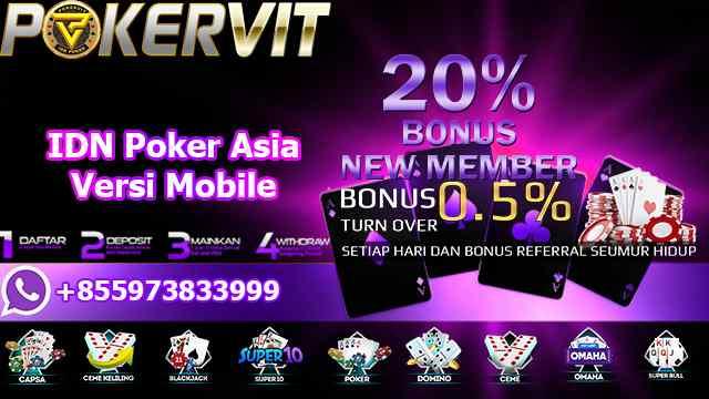 IDN Poker Asia Versi Mobile