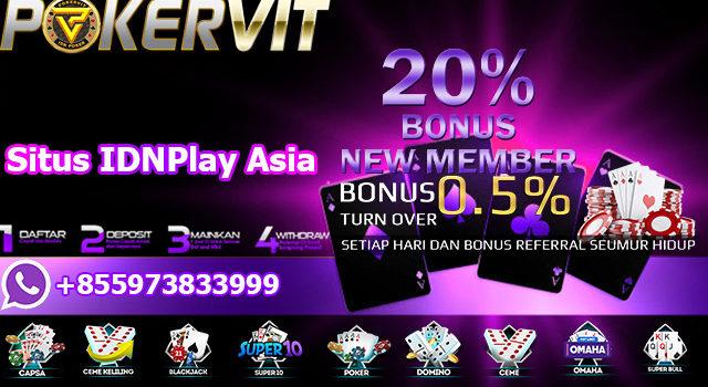 Situs IDNPlay Asia
