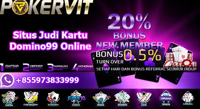 Situs Judi Kartu Domino99 Online