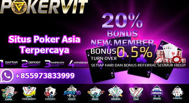 Situs Poker Asia Terpercaya