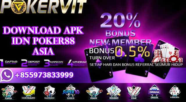 Download APK IDN Poker88 Asia
