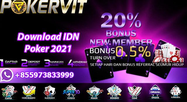 Download IDN Poker 2021