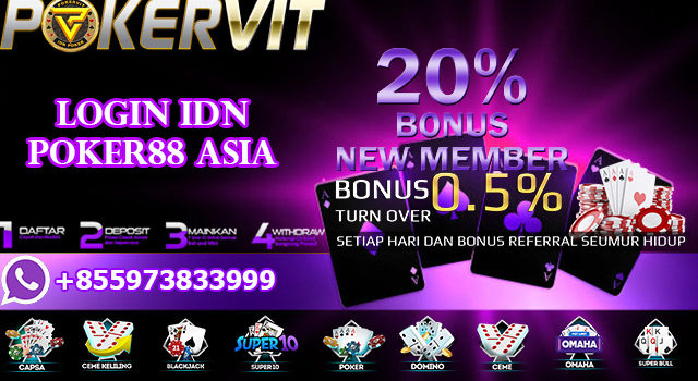 Login IDN Poker88 Asia